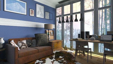 Fog - Country - Living room  - by hetregent