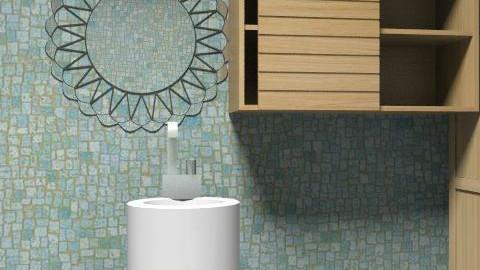 At Newyork House's Bathroom - Country - Bathroom  - by pelin1996
