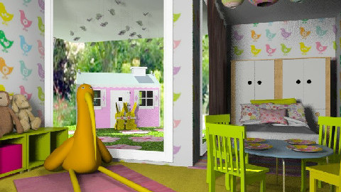Kids Easter - Eclectic - Bedroom  - by chania