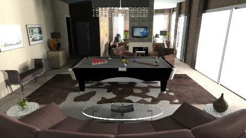 Muscati_Game3 Modern - Modern - Living room - by pdsmatt