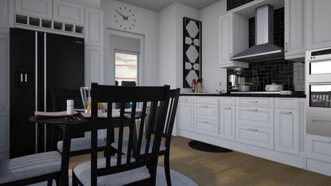 Flat 24 Kitchen - Modern - Kitchen  - by Irishrose58