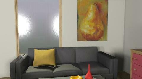old3 - Retro - Living room - by ani_kapanova
