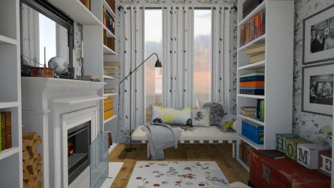 Book Nook - Classic - Office - by monikica