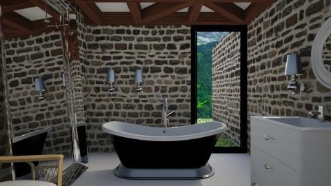 Modern Castle Bathroom - Eclectic - Bathroom  - by 3rdfloor