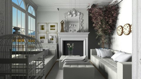 40 - Classic - Living room  - by Ivana J