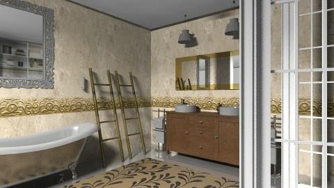 allgold - Classic - Bathroom  - by calu13