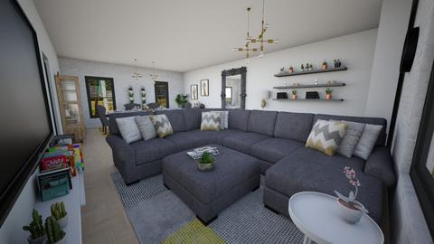 Our Lounge Makeover 2 - Living room - by niidurose