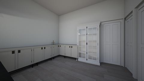 college appartment iowa - Kitchen - by erin_noelle06