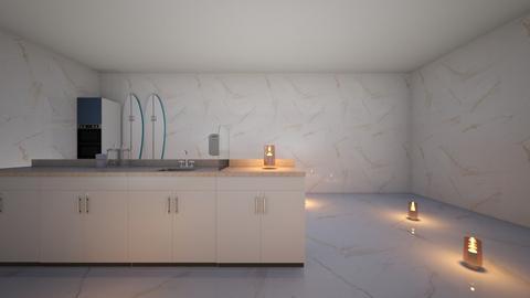 beach kitchen - Modern - Kitchen  - by KokoPup13