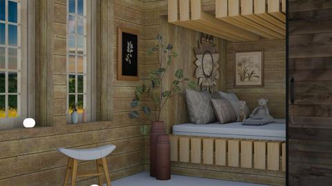 kids bedroom - Bedroom  - by seasidestarfish