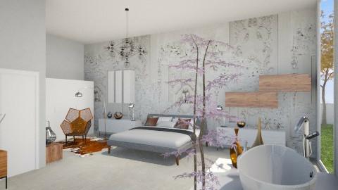 MODERN BATHROOM EN SUITE - Modern - Bathroom  - by Cristina Stramaglia