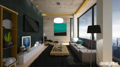 Crying City - Modern - Living room  - by KRdesign
