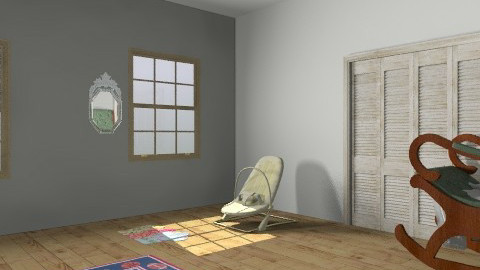 olivia bartodziej - Rustic - Kids room  - by piggie264