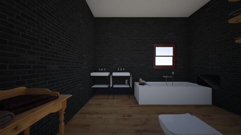 bathroom - Modern - Bedroom - by Banana543