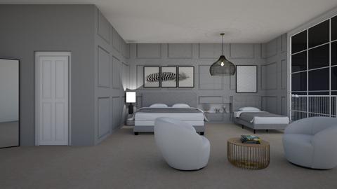 Hotel Room - by Tanem_Cagla