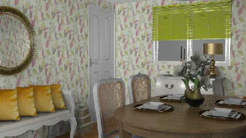 t18 - Secret Garden - Dining Room  - by gingerpantz