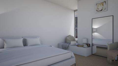 heather - Minimal - Bedroom  - by natalieeyauu