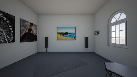 home cinema - Modern - Living room - by axnx_8_