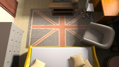 My Dream Bedroom 2015 - Rustic - Bedroom  - by Olivia Nicole McDonald