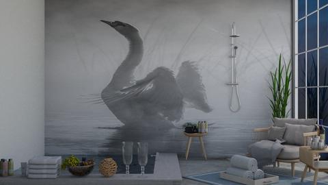 Swan - Bathroom  - by IcyRosyRake2