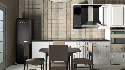 kitchenbrown - Retro - Kitchen  - by Gulland