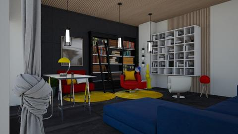 Bauhaus Coloured  - Office  - by rechnaya