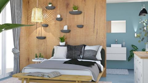 modern boho  - Modern - Bedroom  - by Norbosa