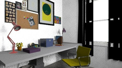 working rooms last6 - Vintage - Office  - by bellabravis