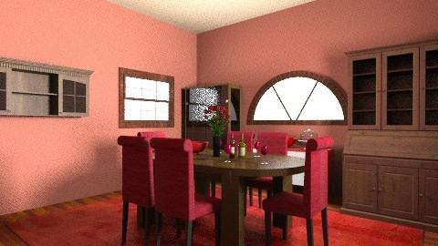 RED - Country - Dining room - by 89dudes