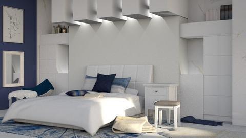Indigo Fresh - Modern - Bedroom  - by millerfam