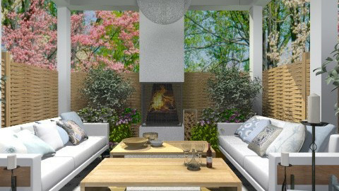 retreat - Garden  - by myideas interiors