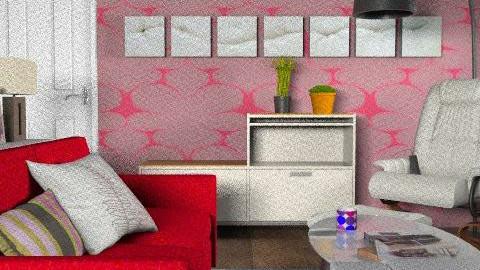 Retro Living Room 2 - Retro - Living room  - by roxannelai