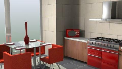 kitchen - Glamour - Kitchen  - by peter_ corfield1