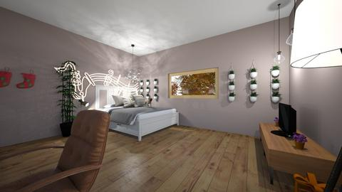 habitacion sofia - Modern - Bedroom  - by sofiapazarribas12