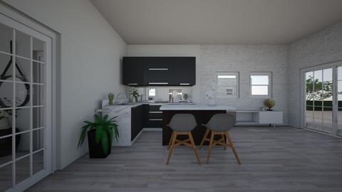 Villa Rosa - Modern - Kitchen - by Joanne2004