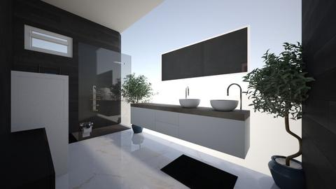 condo - Modern - Bathroom  - by FAUXSWAN