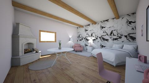 pinkyyyyyy - Bedroom  - by Killerfrost12345