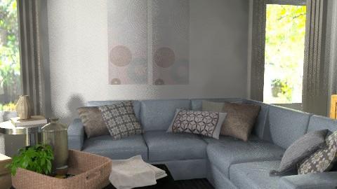 Elliott Condo - Rustic - Living room - by MaryFerrisFDC