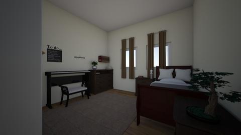 ANGHEL ANTONIA - Bedroom  - by Antonia Anghel