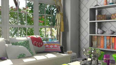 Spring living - Rustic - Living room  - by playrich