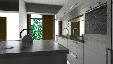 casa chica new  - Kitchen - by ARMIDA 1