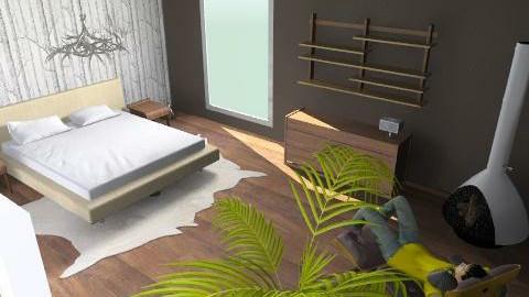 hunter - Rustic - Bedroom  - by hwaldschmidt