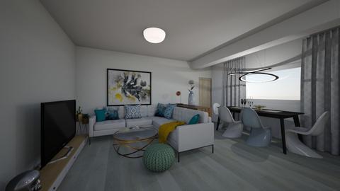 Living - Modern - Living room  - by Adelinas56