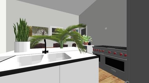 Andrew Kitchen - Modern - Kitchen  - by alink921