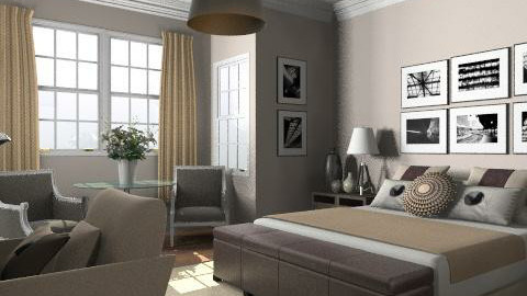 Tolomeo - Classic - Bedroom  - by laurawoodley