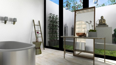 Downstairs Bath - Eclectic - Bathroom  - by 3rdfloor