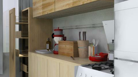 bucataria - Minimal - Kitchen  - by ClaUdiA N