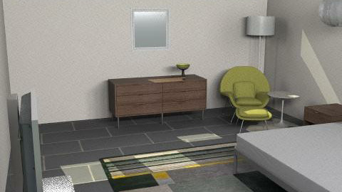 Kimberly Bedroom - Retro - Bedroom  - by kblanco