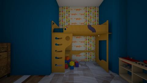 bout one blue corner   - Kids room  - by starfire908