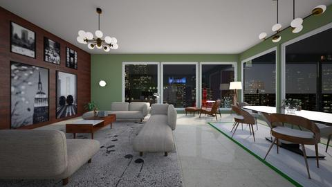 ChampagneView by Daisy de - Vintage - Living room  - by Daisy de Arias